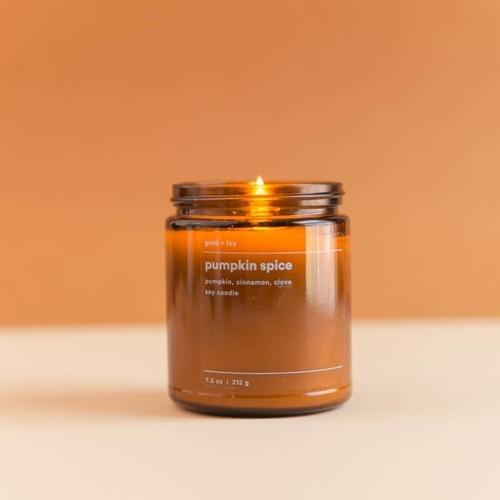 Pumpkin Spice 7.5 oz. Soy Candle