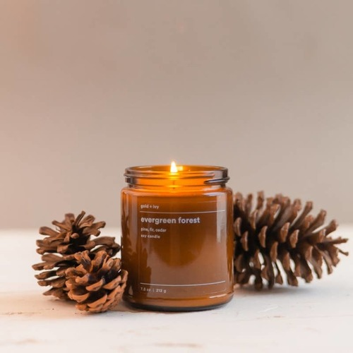 Evergreen Forest 7.5 oz. Soy Candle