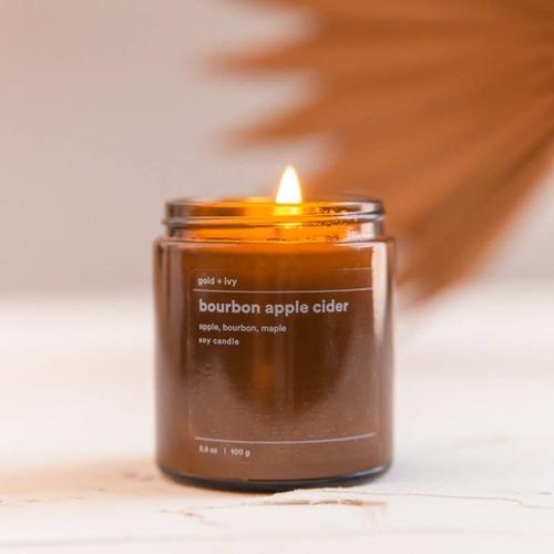 Bourbon Apple 3.5 oz. Soy Candle