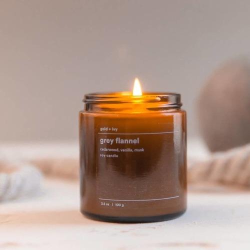 Grey Flannel 3.5 oz. Soy Candle