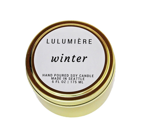 Lulumiere Winter 6oz. Candle