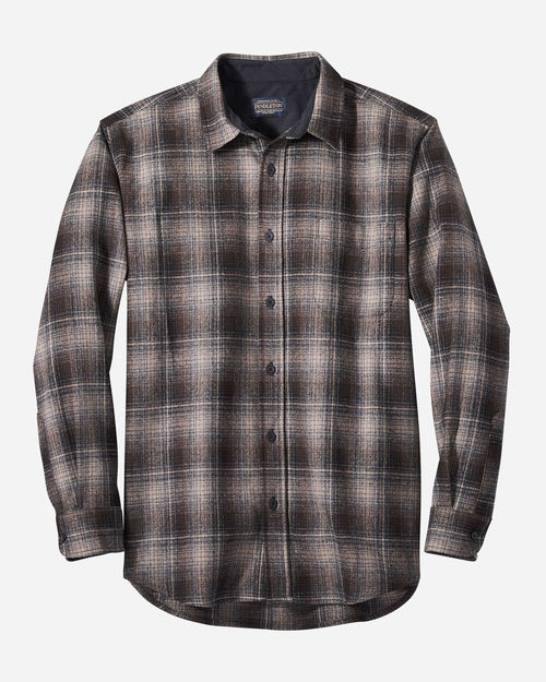 Pendleton Lodge Shirts Tan/Blk/Grey