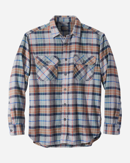 Pendleton Burnside Flannel Grey Multi