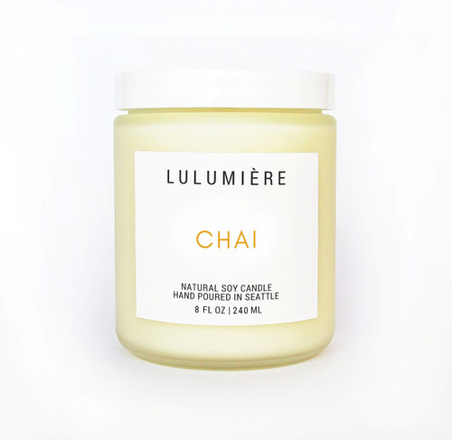 Lulumiere 8 oz Chai Candle