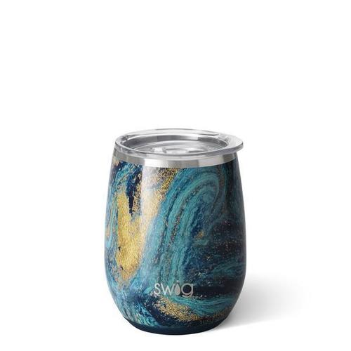 Swig 14 oz. Stemless Starry Night Wine Cup