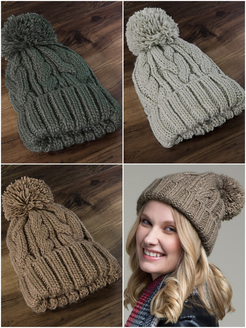 Cable Knit Basic Beanie