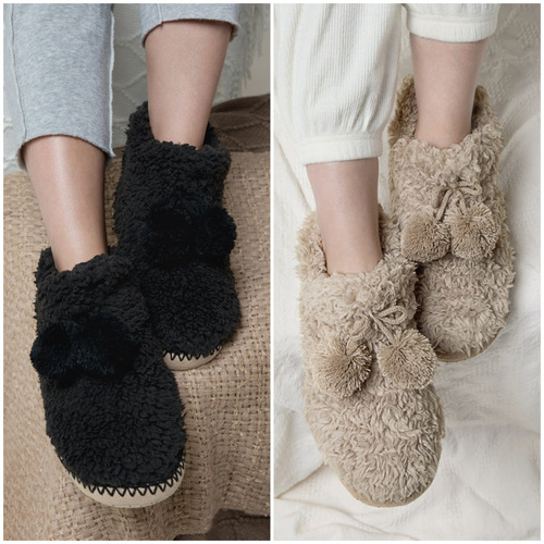 Cozy Faux Fur Booties