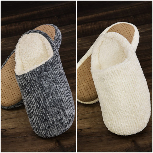 Chenille Slipper