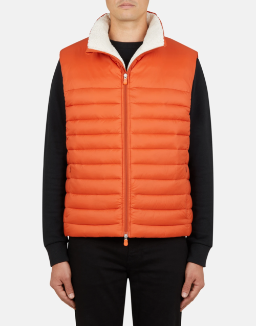 Save the Duck Sherpa Gigay Vest Ginger