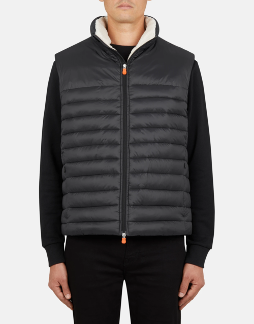 Save the Duck Sherpa Gigay Vest Black
