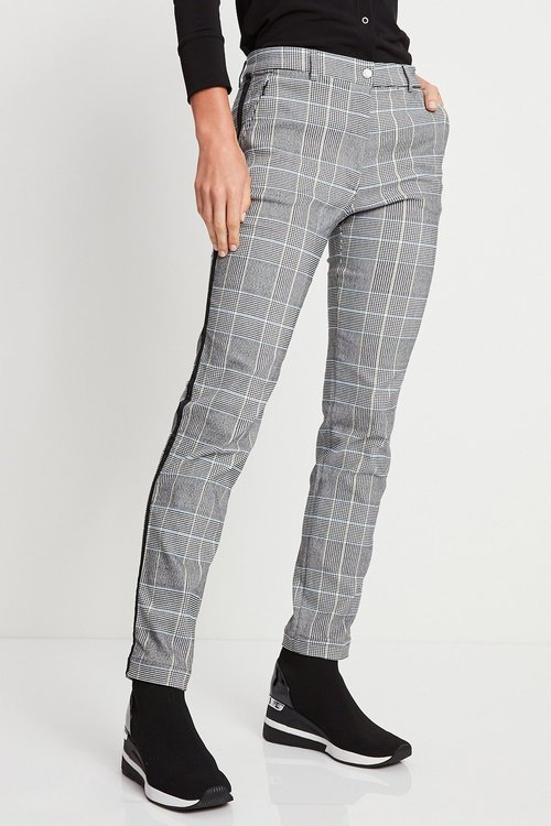 Harmony Stretch Woven Plaid Pant