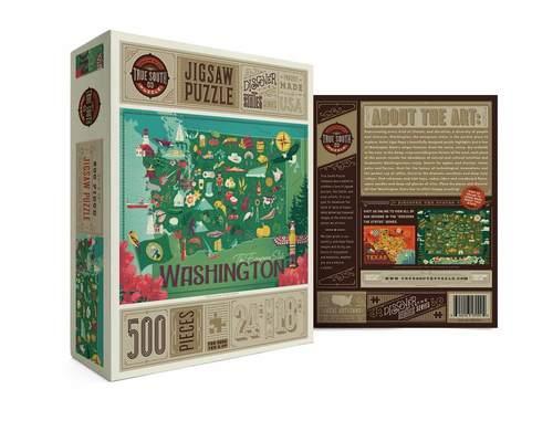 Washington State Jigsaw Puzzle