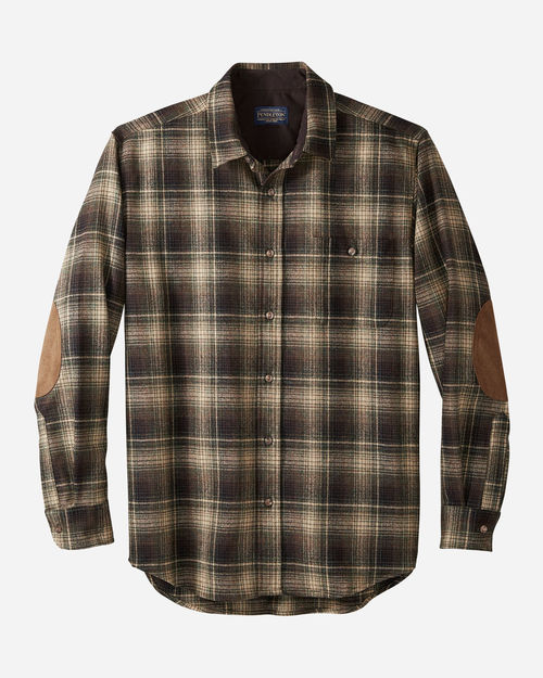 Pendleton Trail Shirt Tan/Blk/Green