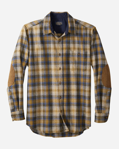 Pendleton Trail Shirt Olive/Blue/Bronze