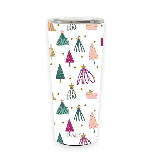 Caus Stainless Large Tumbler Whimsical Winter