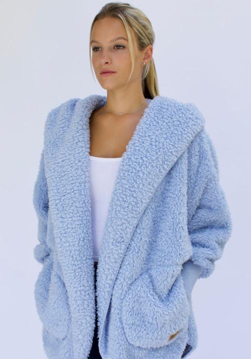 Nordic Beach Fleece Cashmere Blue One Size