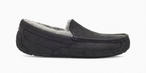 UGG Ascot Matte Black Leather