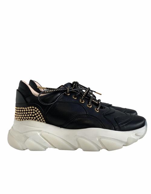 Lamb Nappa / Suede Sneaker