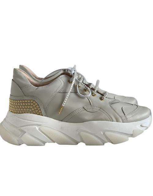 Calf Skin / Suede Sneaker