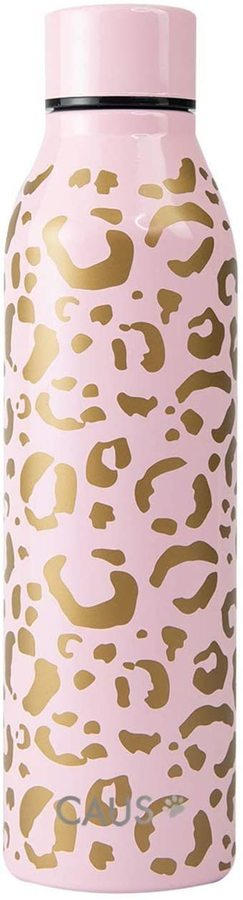 Caus Curved Bottle Leopard