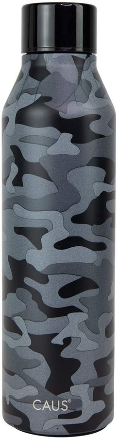 Caus Curved Bottle Black Camo