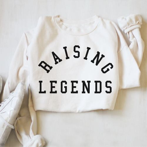 Raising Legends Pullover White