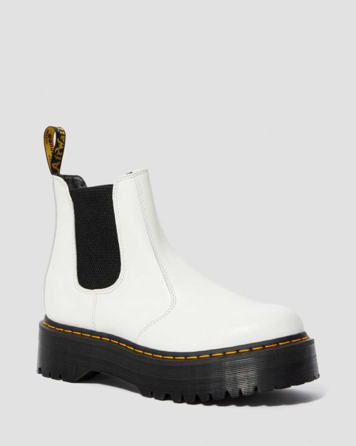 Dr Marten 2976 Quad White Smooth