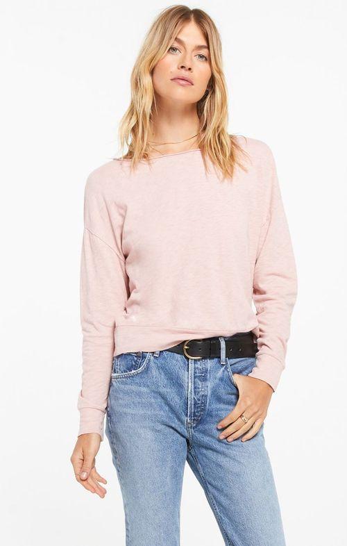 Naiser Slub Top Pink Blossom