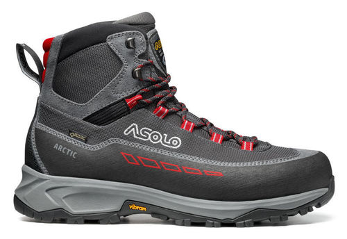 Asolo Arctic GV Insulated Grey/Gunmetal/Red
