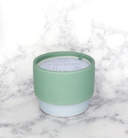6 oz Green/Blue Ceramic Saltwater Suede