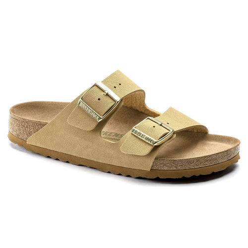 Birkenstock Arizona Vegan Latte Cream Birkibuc