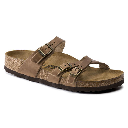 Birkenstock Franca Tobacco Oiled Leather