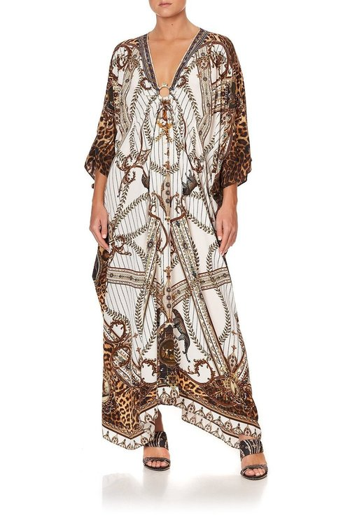 Split Sleeve Kaftan w/ Hardware