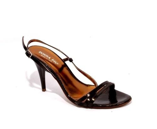 Bronze Strappy Sandals