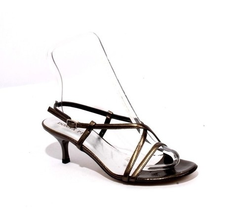 Dark Olive Leather Sandals