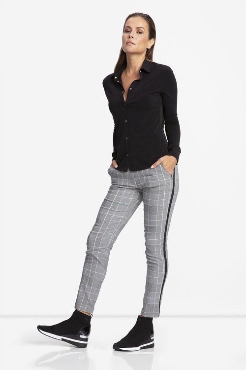 Harmnoy Stretch Woven Plaid Pant