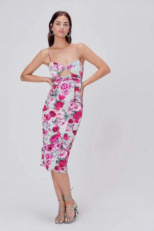 Robin Floral Midi Dress