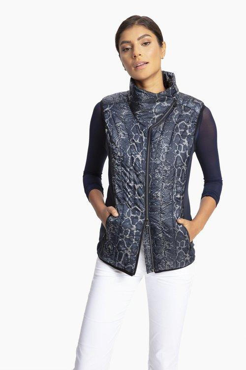 Puffy Vest w/ Lycra Panels