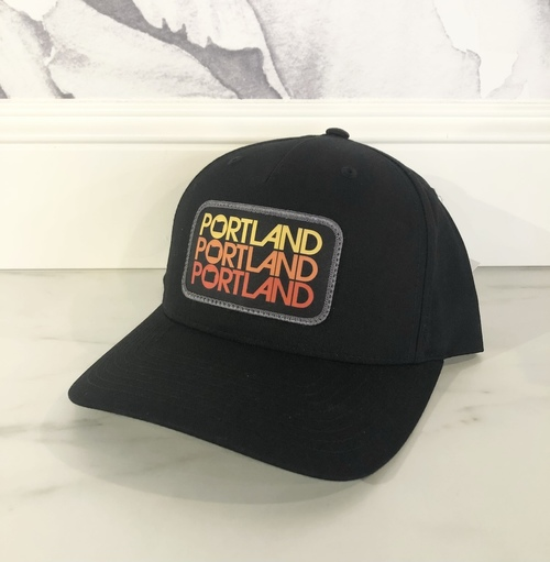 Portland Triple Cap Black