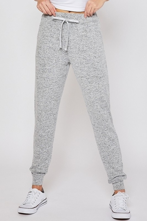 Oversized Relaxed Joggers Heather Grey