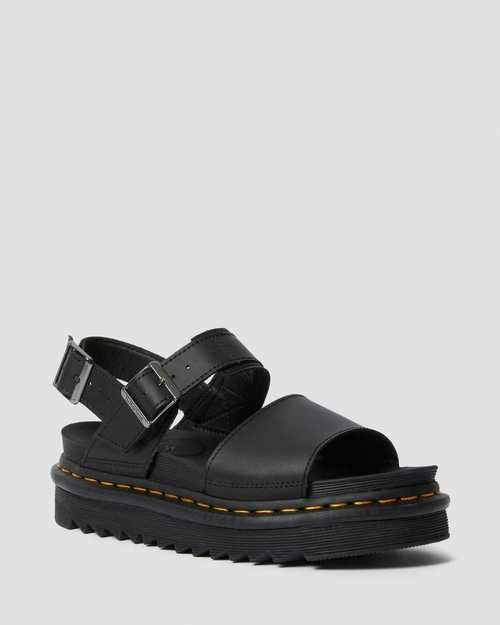 Dr. Martens Voss Quad Sandals Black