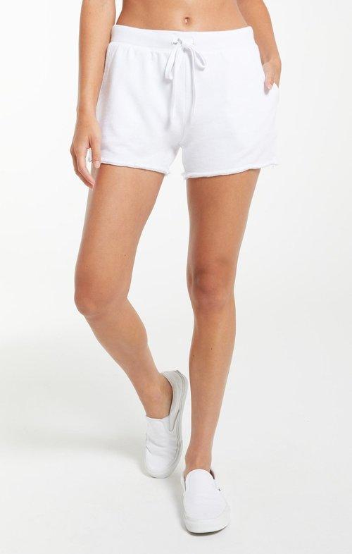 Z Supply Marina Washed Short White