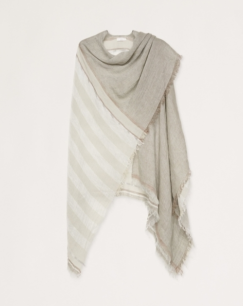 Linen and Cotton Poncho