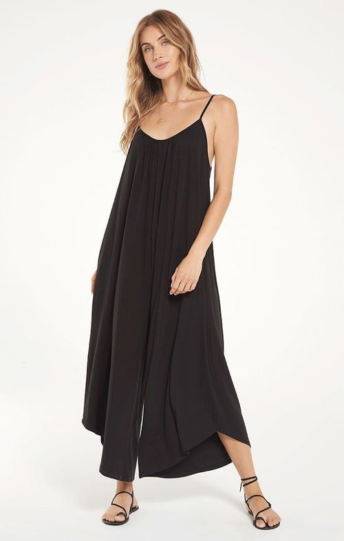 The Black Flared Jumpsuit
