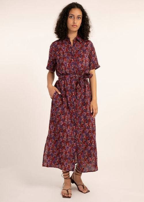Medusa Dress Purple