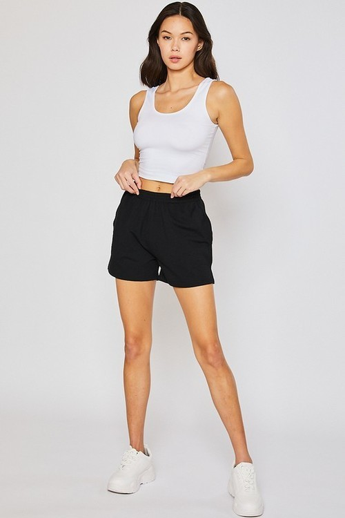Fleece Shorts Black