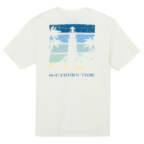Southern Tide M SS Gradient Lighthouse Tee
