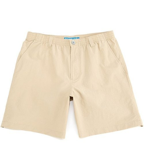 Southern Tide M 7in Cast Off Short Sandstone Khaki