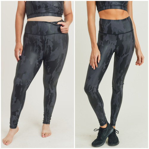 Camo Foil Highwaist Leggings Camo