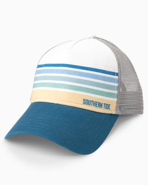 Southern Tide Sundown Stripe Trucker Hat